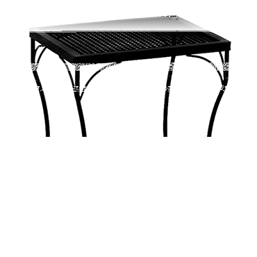 "Micro Mesh Side Table 18"" w x 16"" d x 20""h"