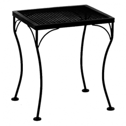"Standard Mesh Side Table 18"" w x 16"" d x 20""h"