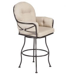 Cambria Club Swivel Bar Stool