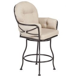 Cambria Club Swivel Counter Stool