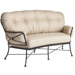Cambria Crescent Love Seat