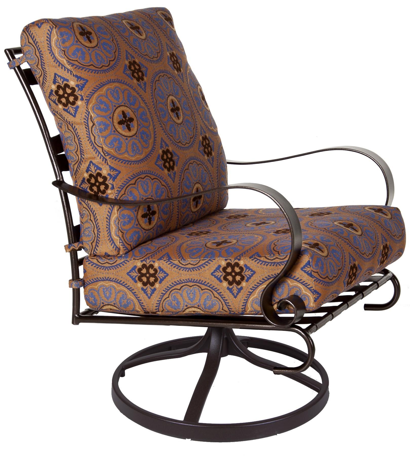 Marquette Swivel Rocker Lounge Chair Hauser 39 S Patio