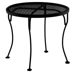 "Micro Mesh Side Table 24"" Round"