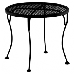 "Standard Mesh Side Table 24"" Round X 20"" h"