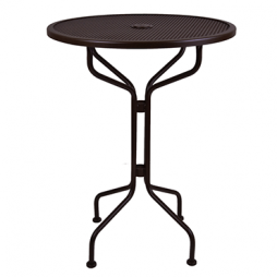 "Standard Mesh Mesh Bar Table 30"" Round"