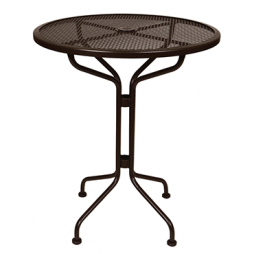 "Standard Mesh Counter Table 30"" Round"