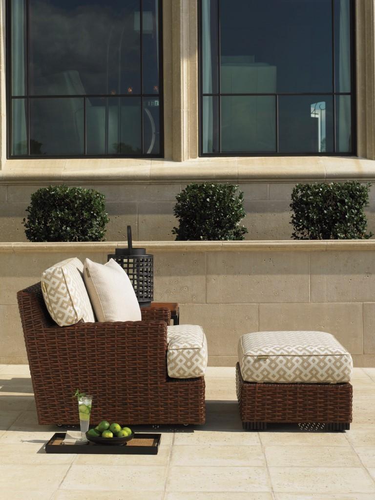 Ocean Club pacifica rattan outdoor lounge chair