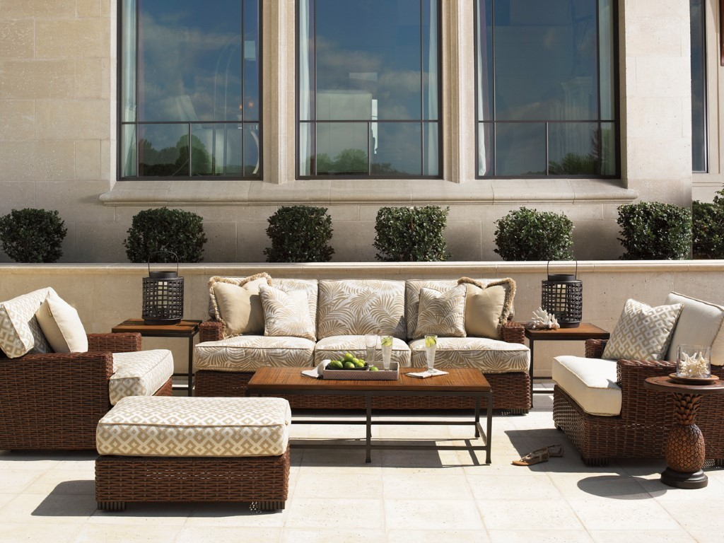 Tommy Bahama Ocean Club Pacifica sofa arrangement