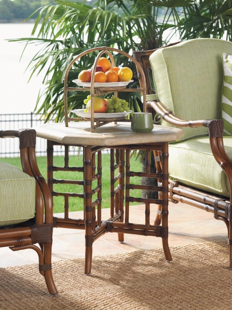 Island Estate Veranda Side Table Hauser S Patio