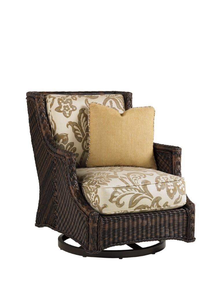 Island Estate Lanai Swivel Lounge Chair Hauser S Patio