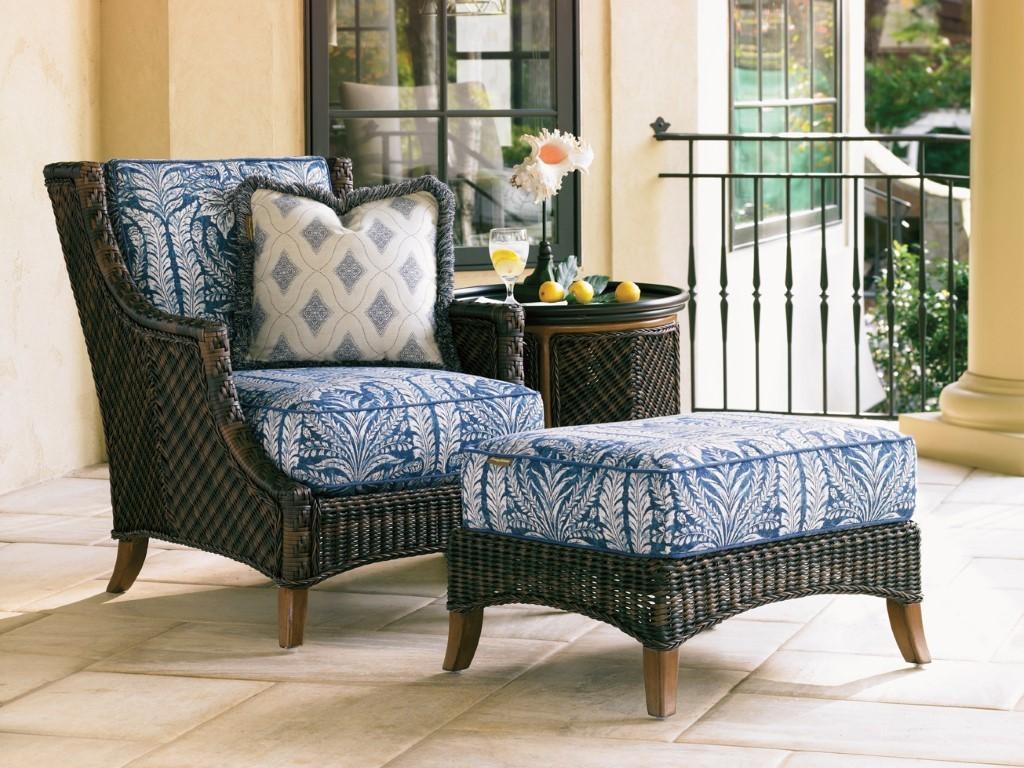 island estate lanai chair and ottoman