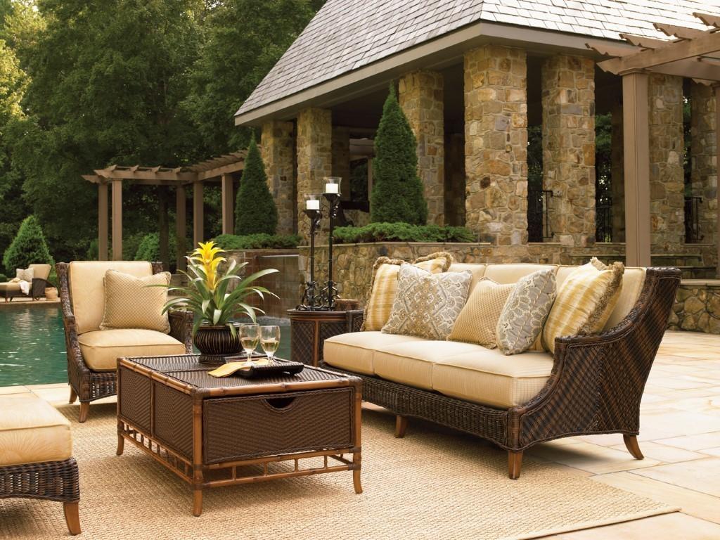 Island estate lanai sofa hauser 39 s patio for Lanai extension