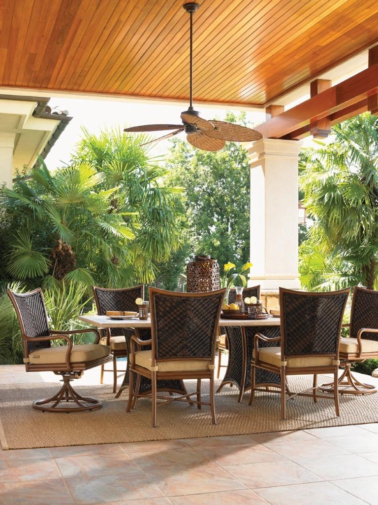 Tommy Bahama royal island lanai dining set