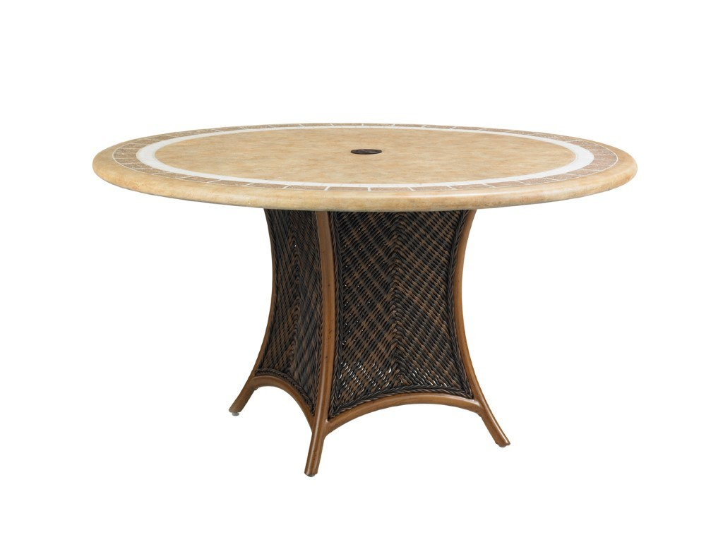Island Estate Lanai Table Base For 54 Inch Dining Table Hauser 39 S Patio