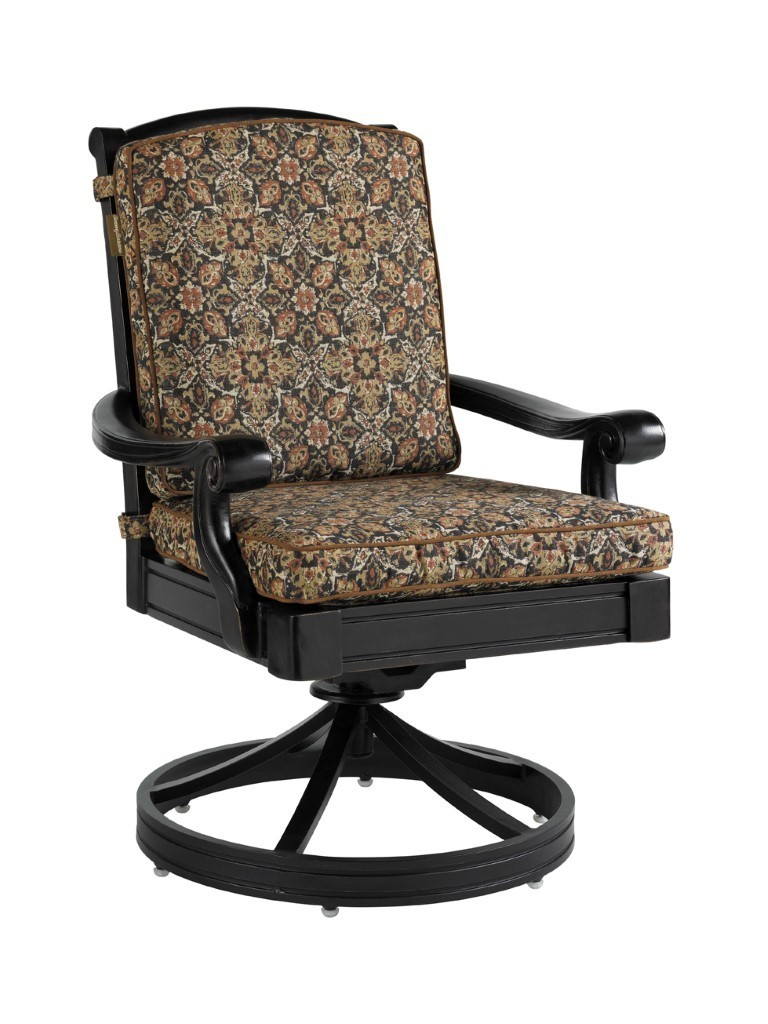 Kingstown Sedona Swivel Rocker Dining Chair Hauser S Patio