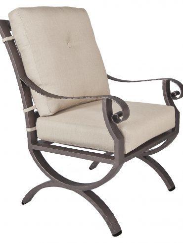 Luna Club Dining Arm Chair