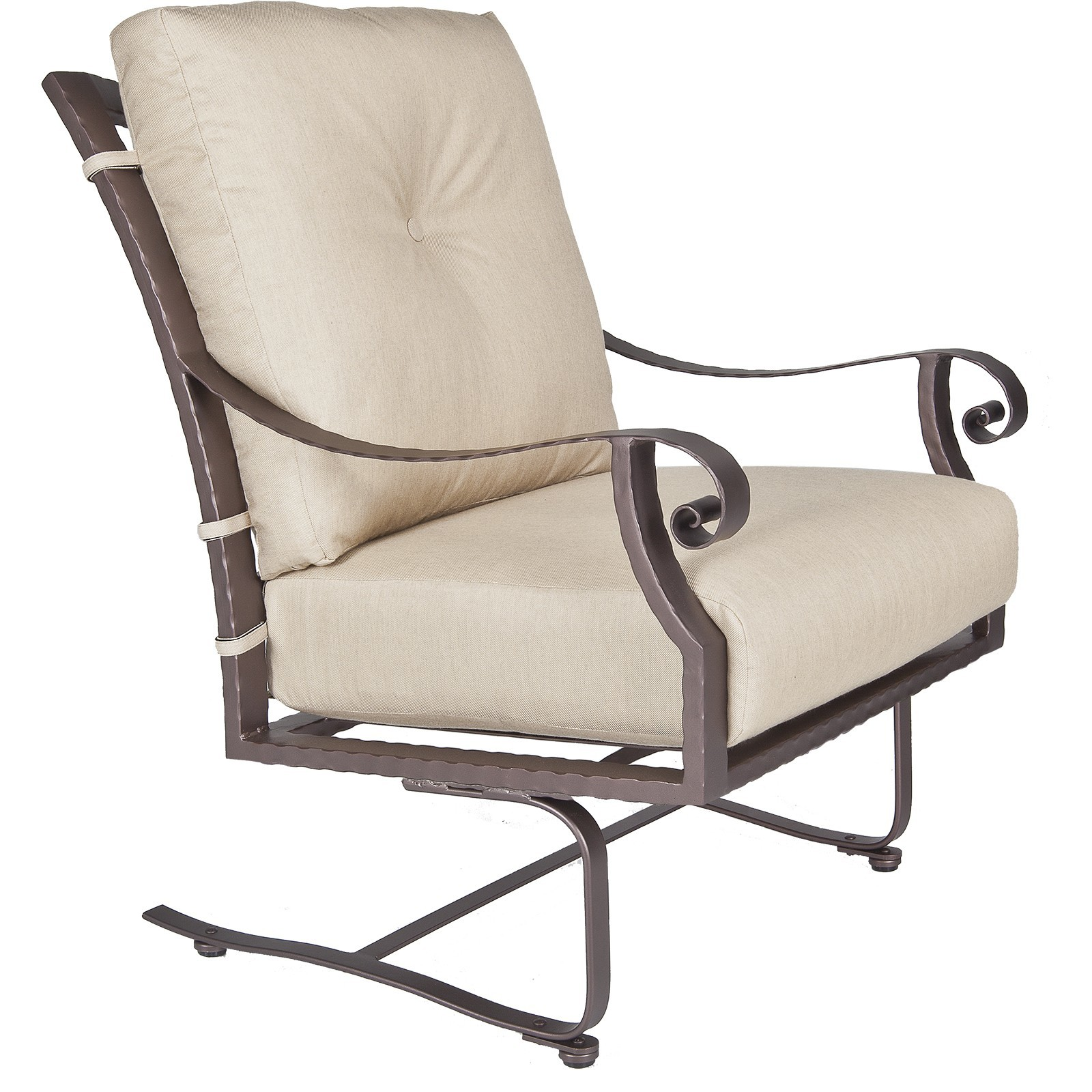 Luna Spring Base Lounge Chair Hauser S Patio