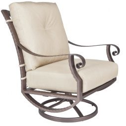 Luna Swivel Rocker Lounge Chair
