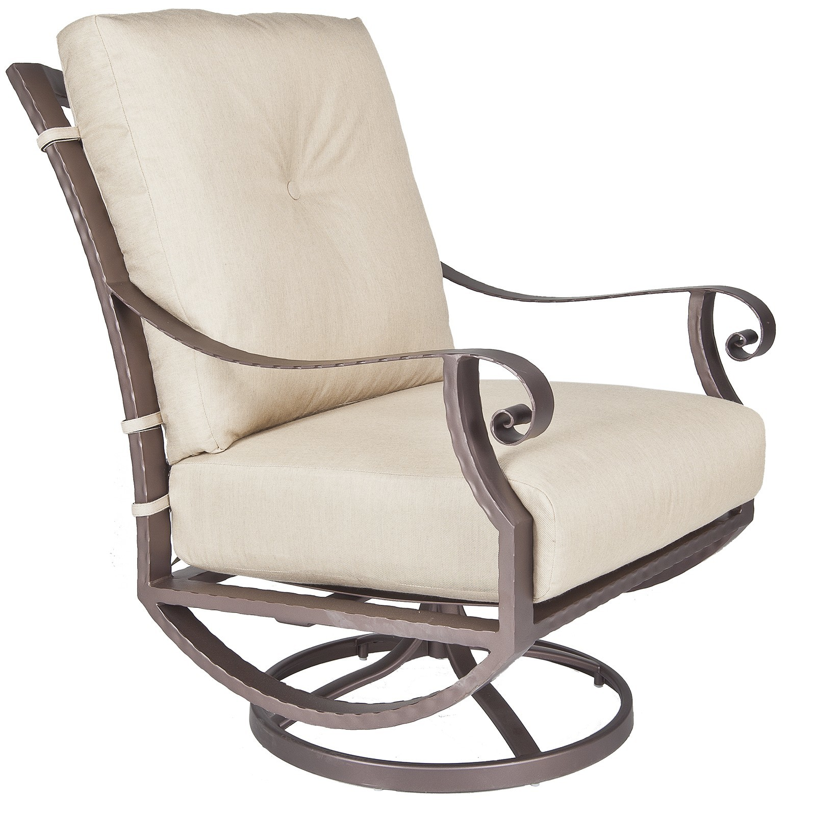 Luna Swivel Rocker Lounge Chair - Hauser's Patio