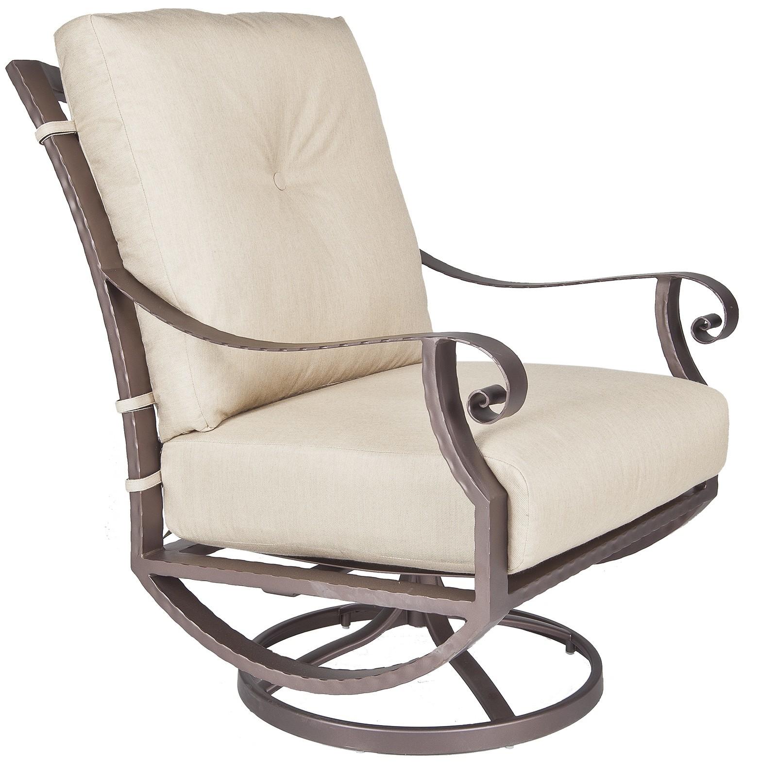 Luna Swivel Rocker Lounge Chair Hauser S Patio