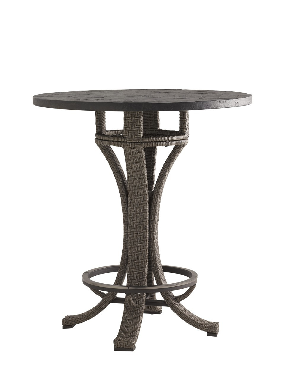 Blue Olive High Low Bistro Table Base Hauser 39 S Patio