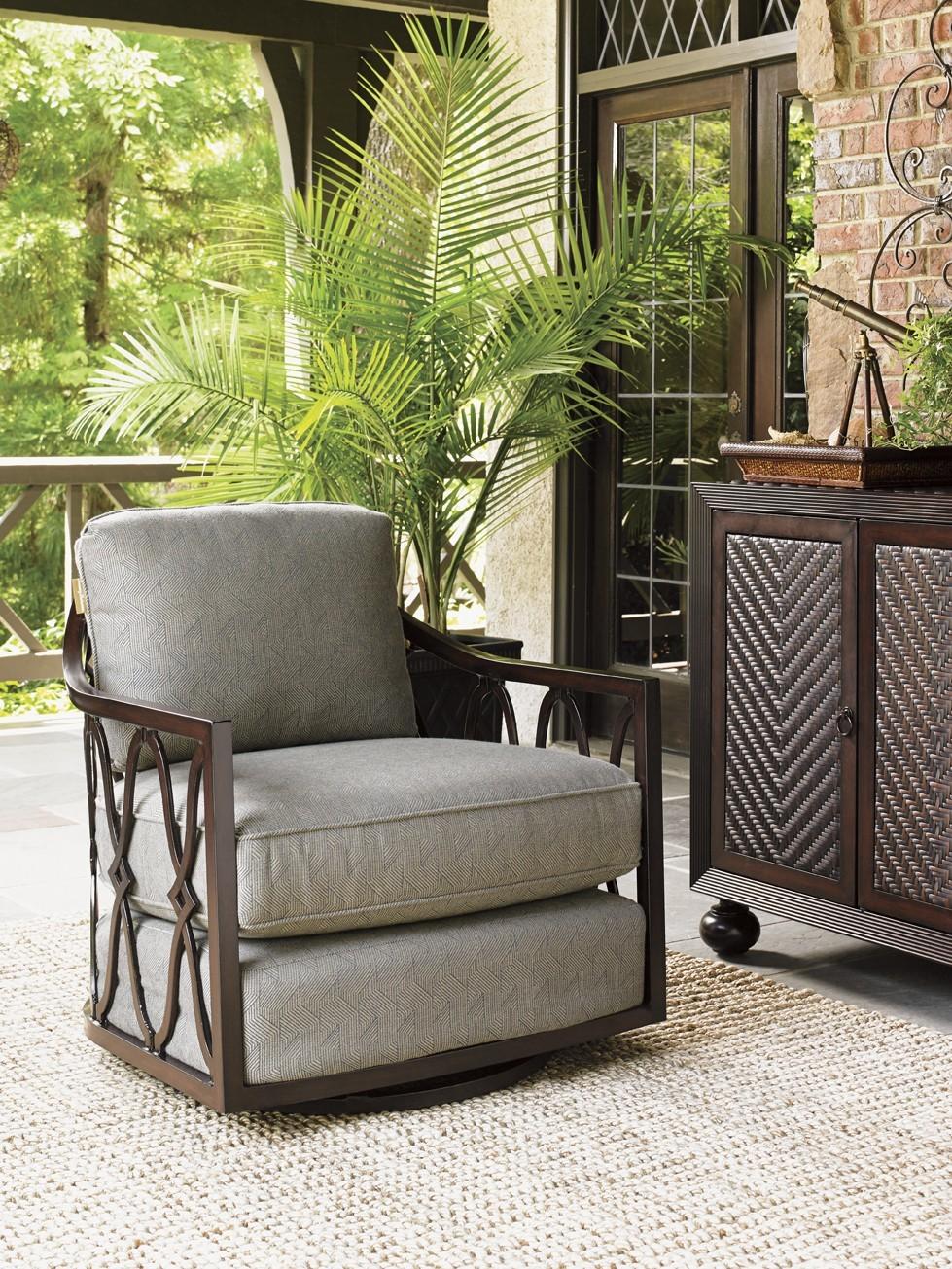Black Sands swivel tub chair