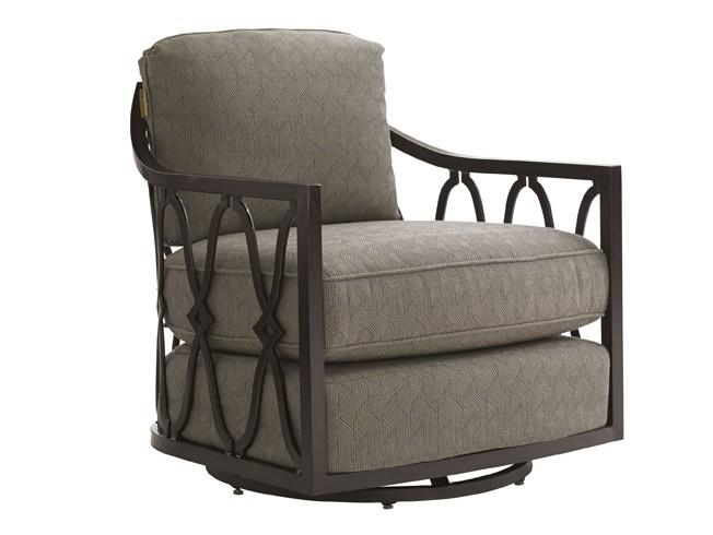 Royal Kahala Black Sands Swivel Tub Chair Hauser S Patio