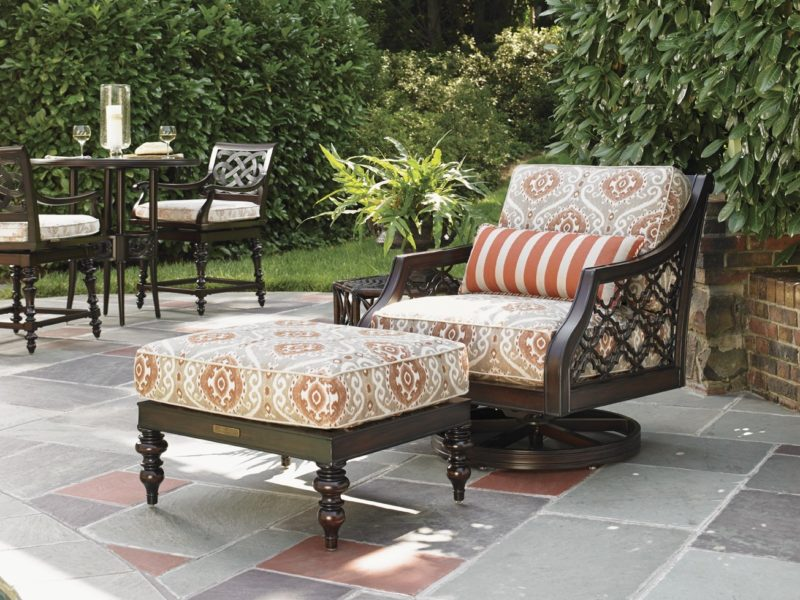 Tommy Bahama Royal Kahala swivel chair