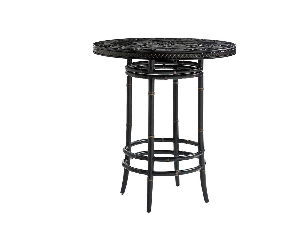 marimba high low bistro table base hauser s patio