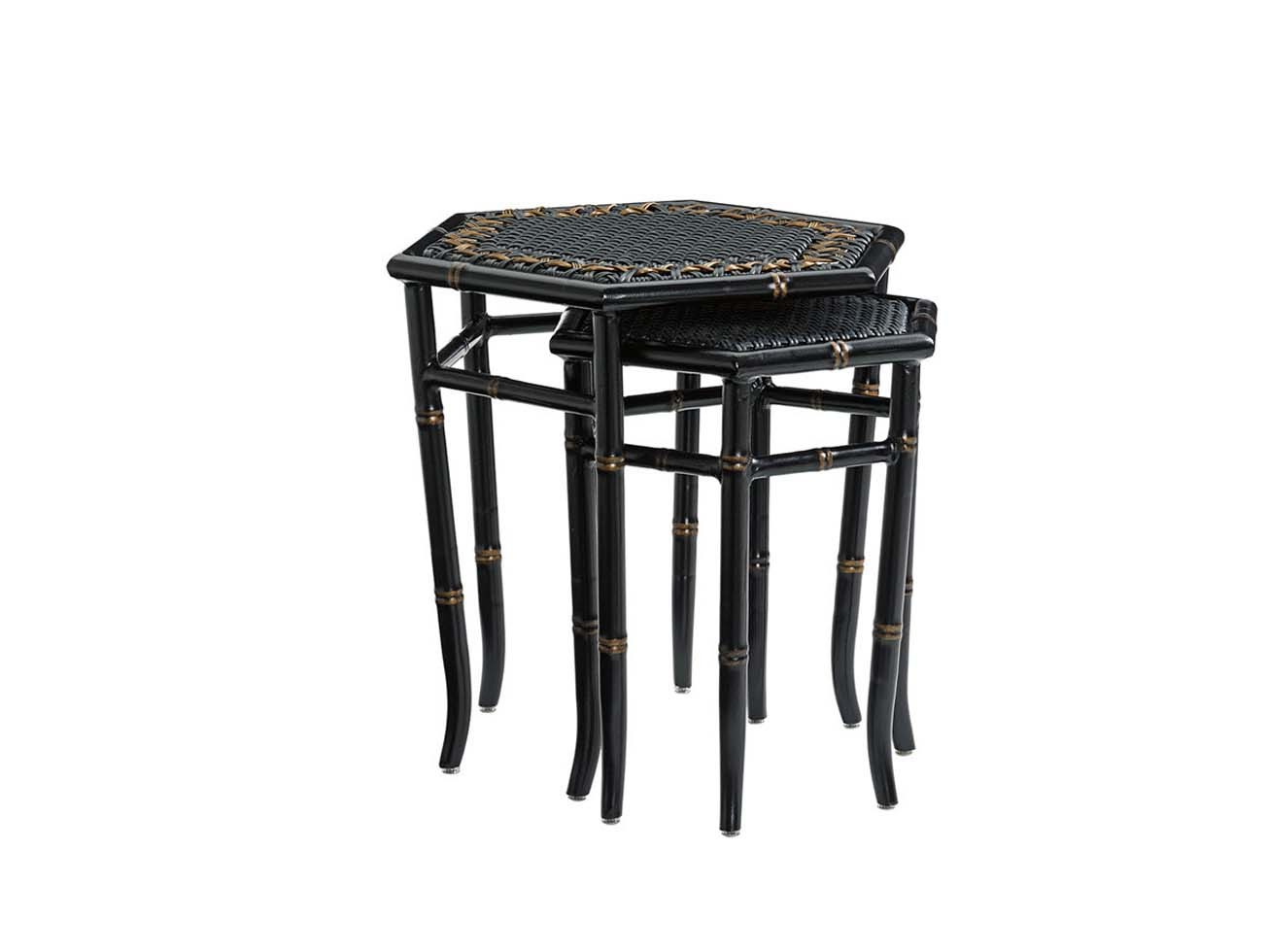 Marimba Nesting Tables (Includes Two Tables) Hauser's Patio. Full resolution  portraiture, nominally Width 1305 Height 980 pixels, portraiture with #7B6650.