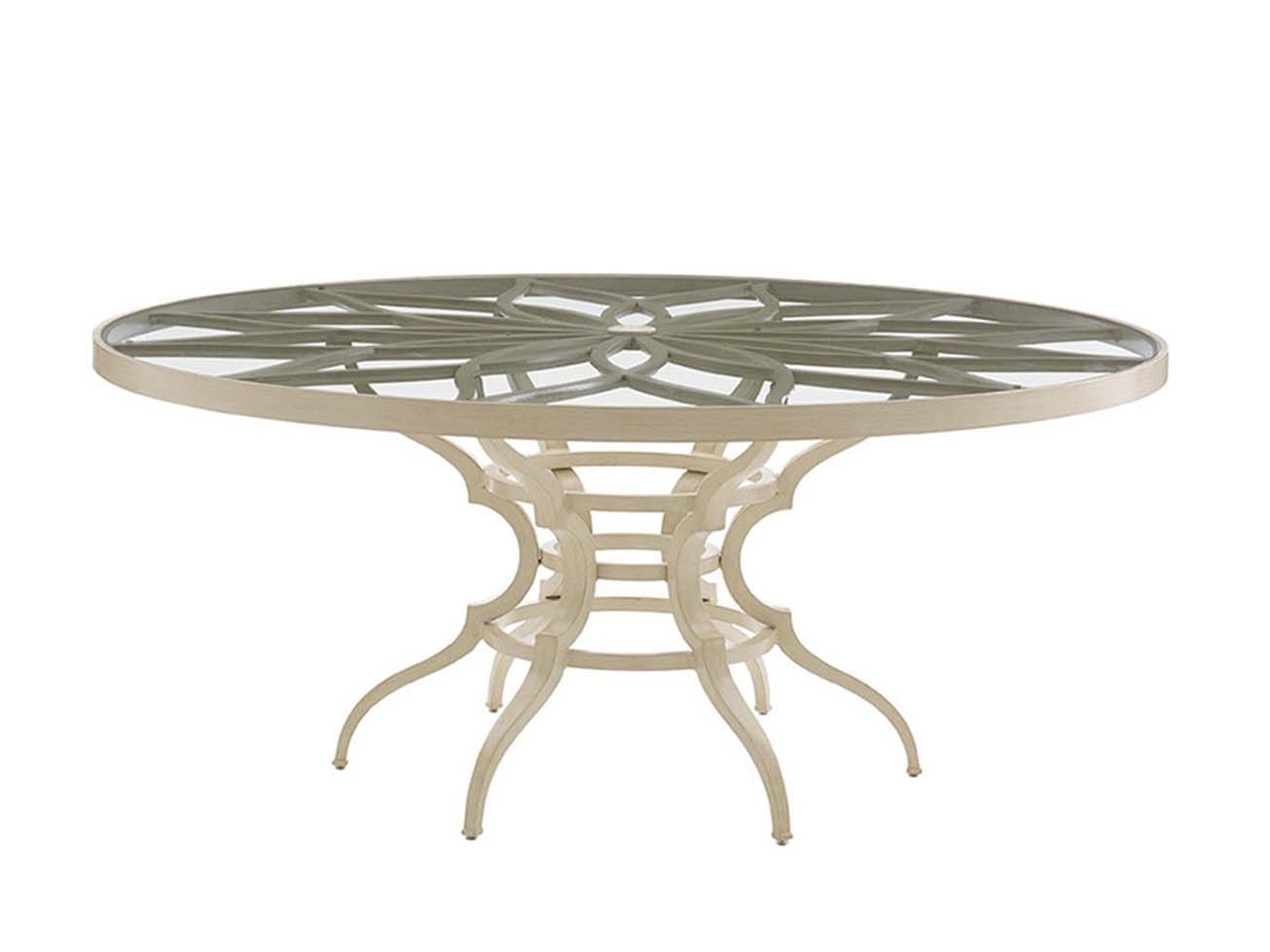 Misty Garden Round Dining Table Base Hauser 39 S Patio