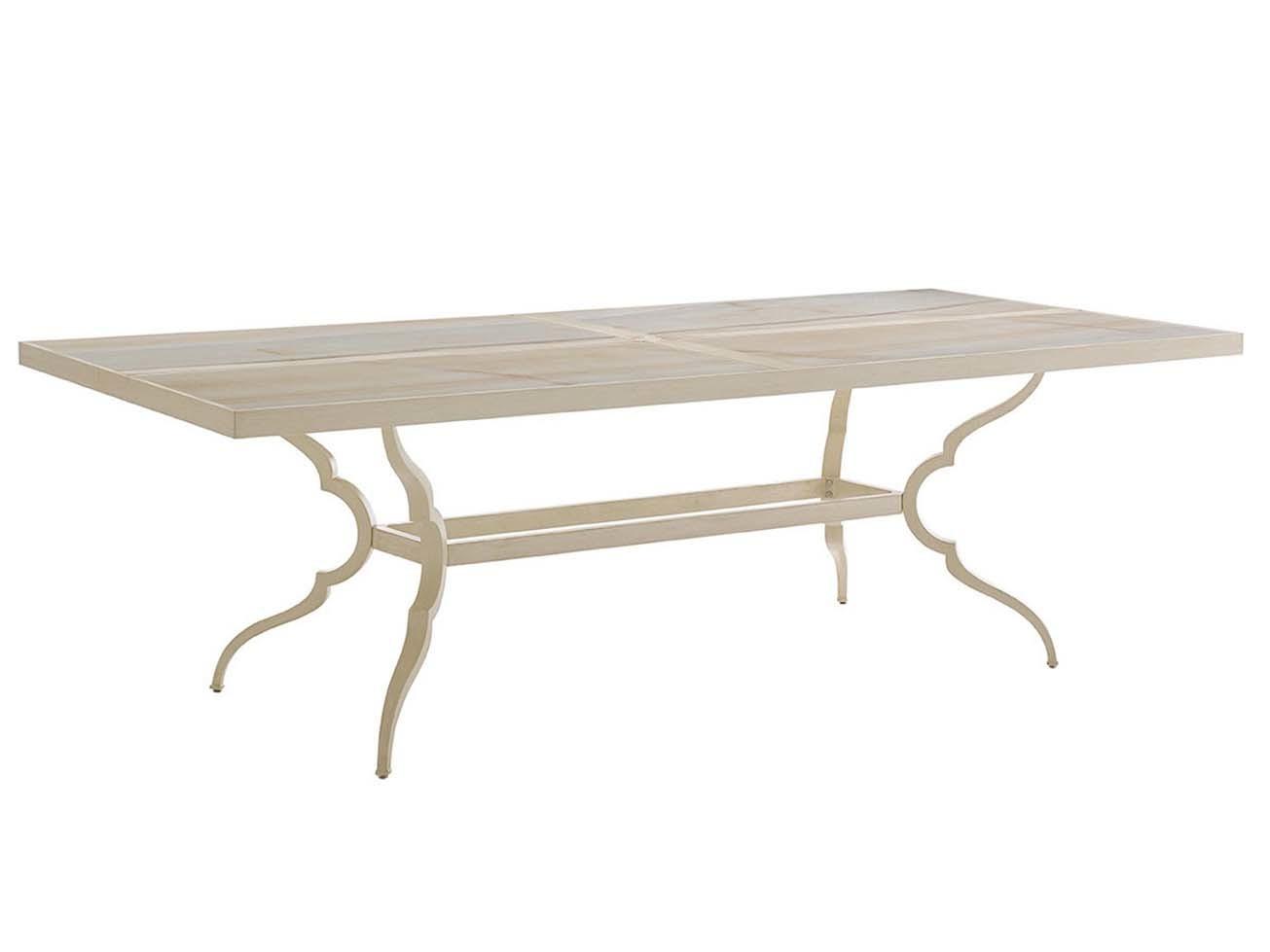 Misty Garden Rectangular Dining Table Hauser 39 S Patio