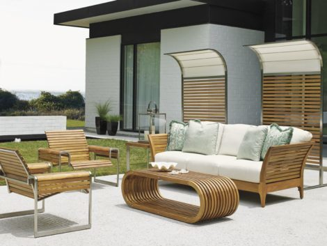 Tommy Bahama Outdoor tres chic teak outdoor furniture