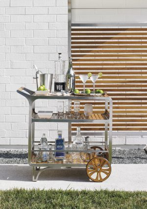 Tres Chic bar cart
