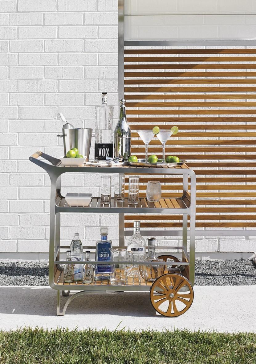 Tres Chic bar cart