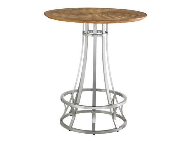 Tres Chic High Low Bistro Bar Table Base Hauser 39 S Patio