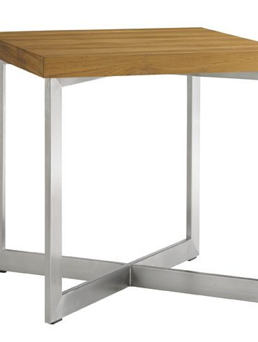 tres chic stainless steel table stool