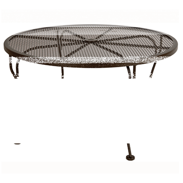 """Micro Mesh Coffee Table With 2"""" Umbrella Hole- 36"""" Round"""