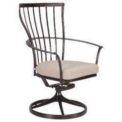 Monterra Dining Swivel Rocker Arm Chair