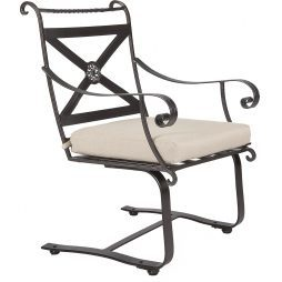 Bellini Spring Base Dining Arm Chair