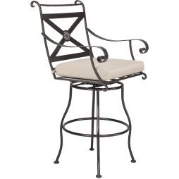Bellini Swivel Bar Stool With Arms