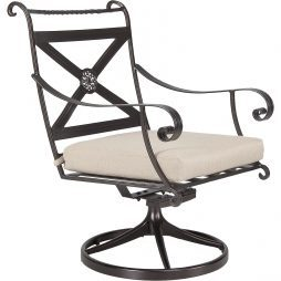 Bellini Swivel Rocker Dining Arm Chair