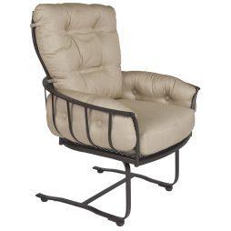 Monterra Club Spring Base Dining Arm Chair