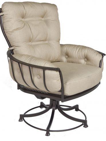 Monterra Club Swivel Rocker Dining Arm Chair