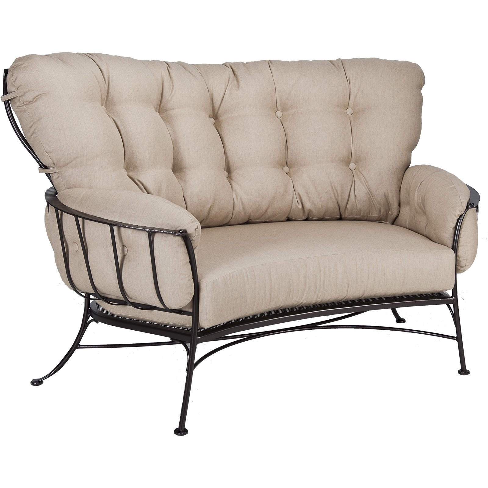 Monterra Crescent Love Seat