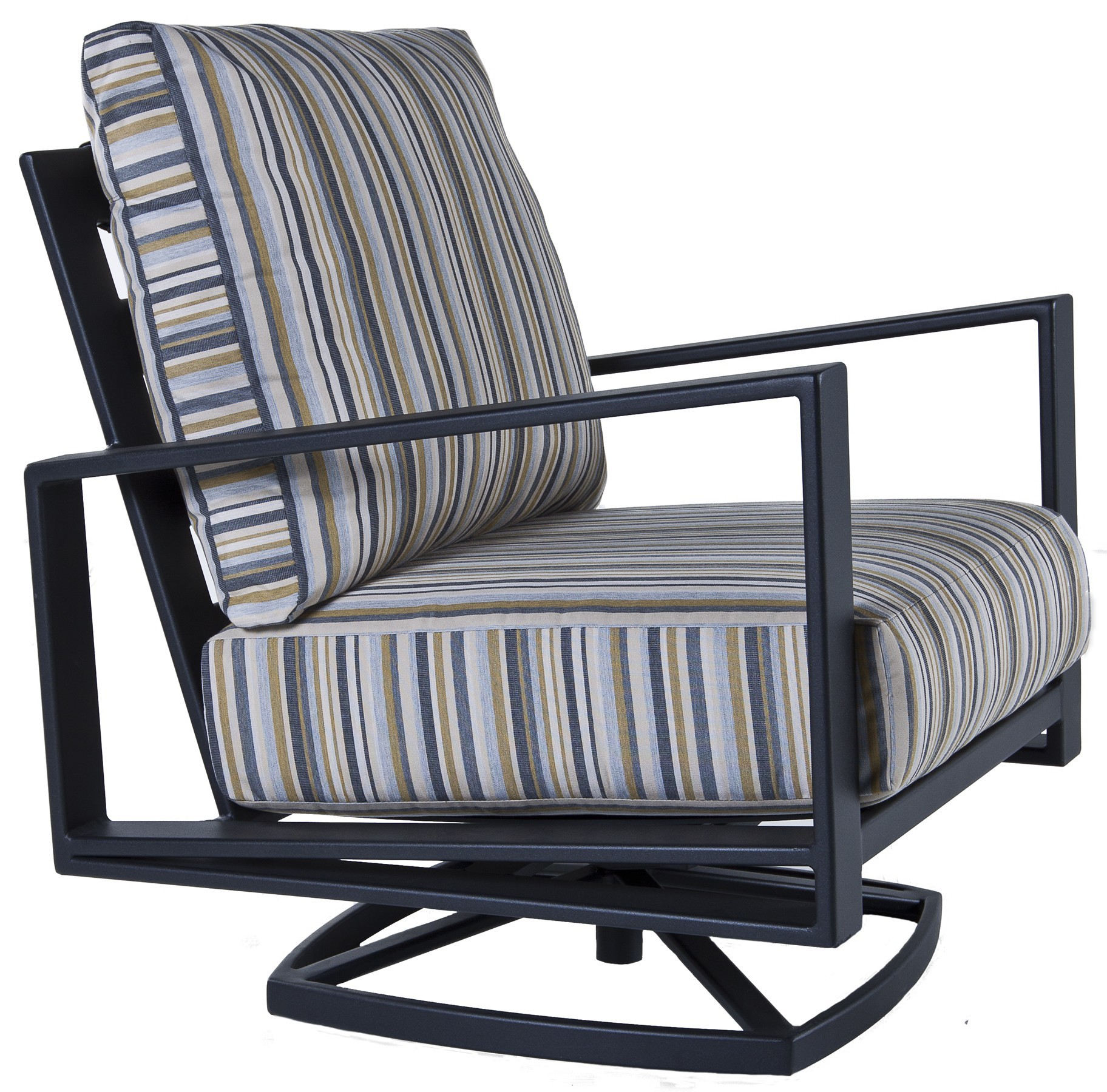 Gios Swivel Rocker Lounge Chair - Hauser's Patio