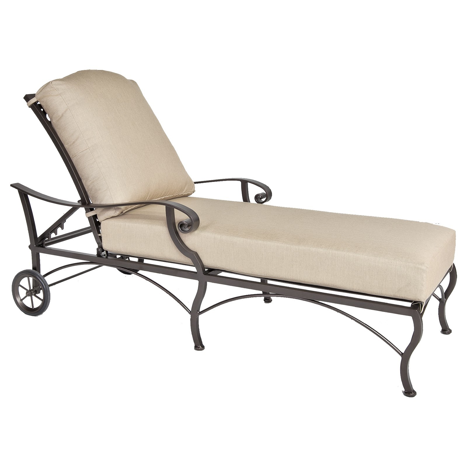 Magnificent Palisades Adjustable Chaise Inzonedesignstudio Interior Chair Design Inzonedesignstudiocom