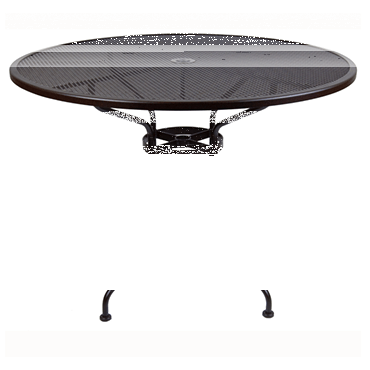 """Micro Mesh Bar Table With 2"""" Umbrella Hole- 48"""" Round"""