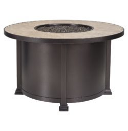 "Fire Pits 42"" Round Chat Height Fire Pit"