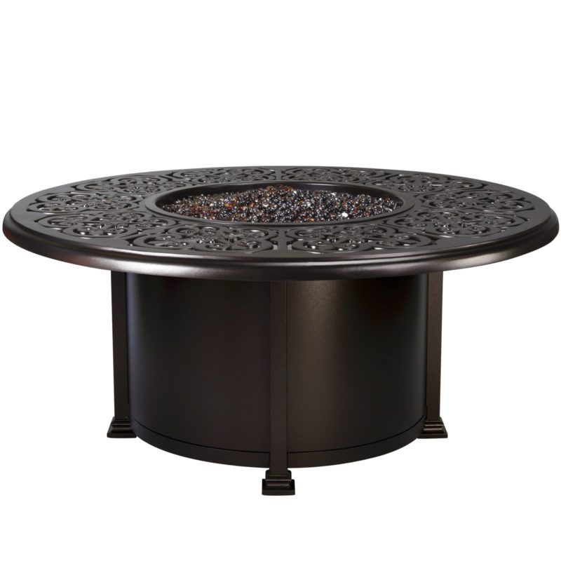 """Fire Pits 54"""" Round Chat Height Fire Pit"""